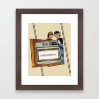 independence Framed Art Print
