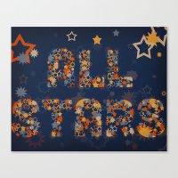 All Stars Canvas Print
