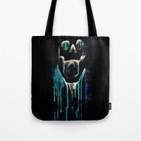 skull drips  2 Tote Bag