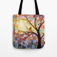 Celestial Sunset Tote Bag