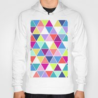 Multi Colour Triangle; Hoody