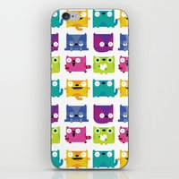 Cats iPhone & iPod Skin