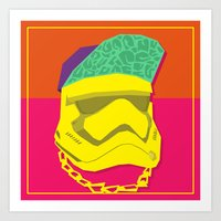 Fresh Trooper Art Print