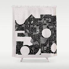 - abstinence - Shower Curtain