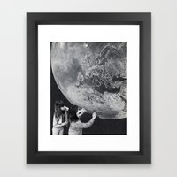 WORK Framed Art Print