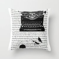Letters To Saul Throw Pillow