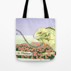 We're Chained Tote Bag