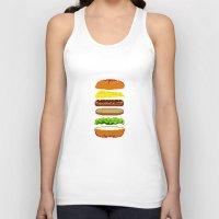 Cheeseburger Unisex Tank Top