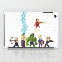 Avenging Pixels iPad Case