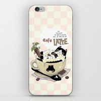 Cafe Latte iPhone & iPod Skin