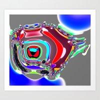 Bent Spots 4 B Art Print