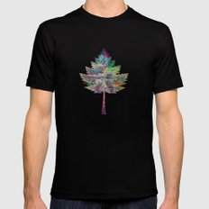 Like a Tree 2. version Mens Fitted Tee Black SMALL