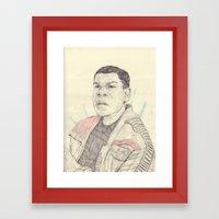 Finn Framed Art Print