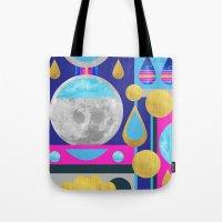 Abstractions No. 3: Moon Tote Bag