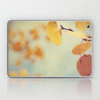 Aspen Leaves In The Wind Laptop & iPad Skin