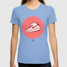 Air Forces 1 Tribute Womens Fitted Tee Tri-Blue SMALL