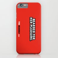 iPhone & iPod Case featuring BEARDED FOR HER PLEASURE. by The Beardly