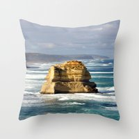 Key Hole Rock Throw Pillow