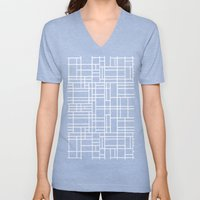 Stained Glass W Unisex V-Neck