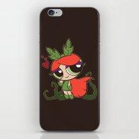 Poison Puff iPhone & iPod Skin