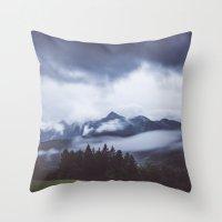 Weather break Throw Pillow
