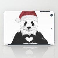 Santa Panda iPad Case