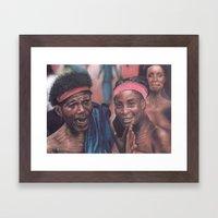 Ghanaian Women Framed Art Print