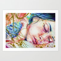 Golden Dreams Art Print