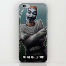 Freedom iPhone & iPod Skin