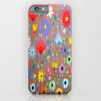 Flowers-Abstracts  iPhone 6 Slim Case