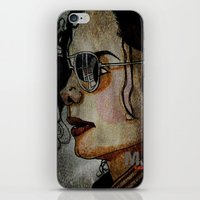 MJ In Profile iPhone & iPod Skin