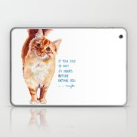 If You Died Laptop & iPad Skin