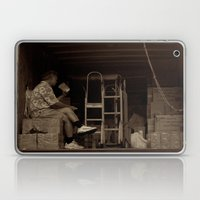 Man Eating Inside The Va… Laptop & iPad Skin