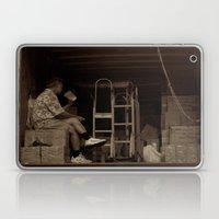 Man Eating Inside The Va… Laptop & iPad Skin