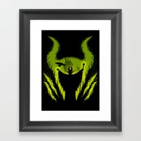 The Evil Fairy Framed Art Print