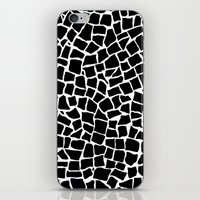 British Mosaic Black And… iPhone & iPod Skin