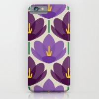 Crocus Flower iPhone 6 Slim Case