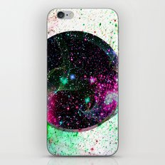 Hole In The Space-Time Fabric iPhone & iPod Skin