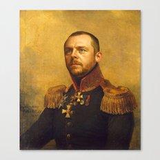 Simon Pegg - replaceface Canvas Print