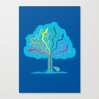 Arrow Tree Canvas Print