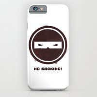 iPhone & iPod Case featuring no smoking by yusuf usta