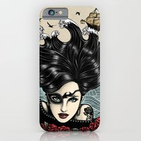 iPhone & iPod Case featuring Pirate Queen (Color) by Vivian Lau