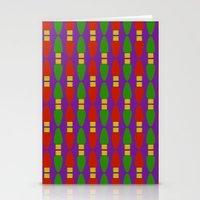 Bulb Wave Royal Stationery Cards