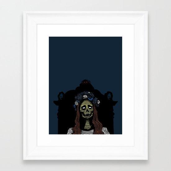 Lana Framed Art Print