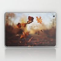 Autumn leaves as quickly as it arrives. Laptop & iPad Skin