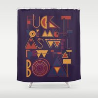 Row That Boat Shower Curtain