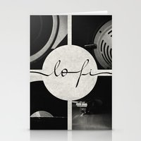 Lo-Fi // Analog Zine Stationery Cards