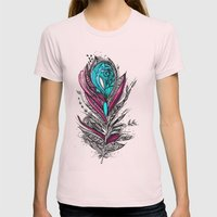 Flower Lover 2 Womens Fitted Tee Light Pink SMALL