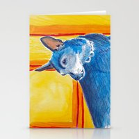 toothy dog Stationery Cards
