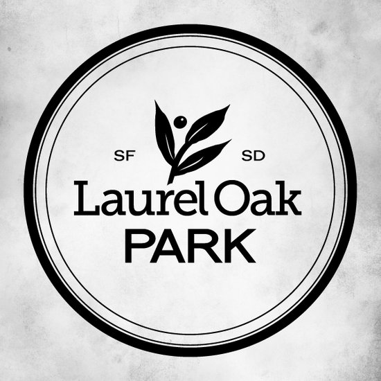 Laurel Oak Park Art Print